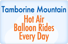 Stay at Bearded Dragon Hotel Mt Tamborine and do a Hot Air Balloon Ride