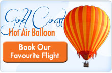 Hot Air Ballooning Gold Coast and Peppers Broadbeach Accommodation Transfers