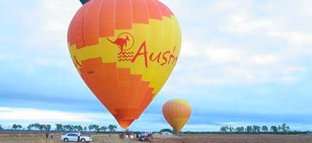 Hot Air Balloon Gold Coast and The Bearded Dragon Boutique Hotel