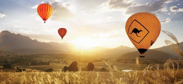 Hot Air Balloon Gold Coast and Wallaby Ridge Retreat
