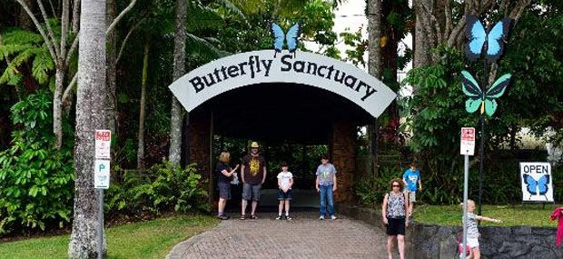Entrance-Kuranda-Butterfly-Sanctuary