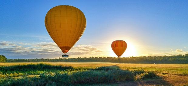 Ballooning and Aquaduck