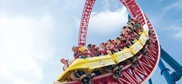 Gold-Coast-MovieWorld-Roller-Coaster