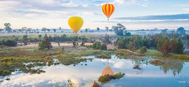 Hot Air Balloon Extended Flight at Gold Coast