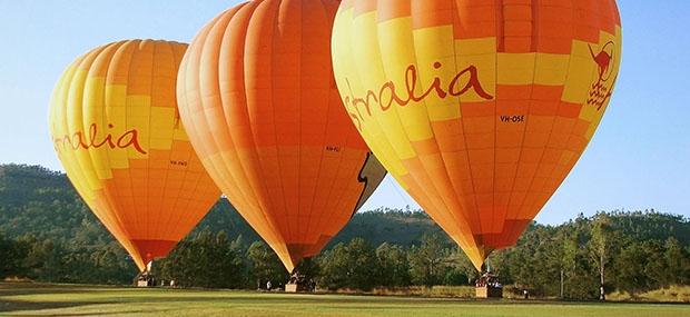 Cairns Tour Hot Air Balloon Flying