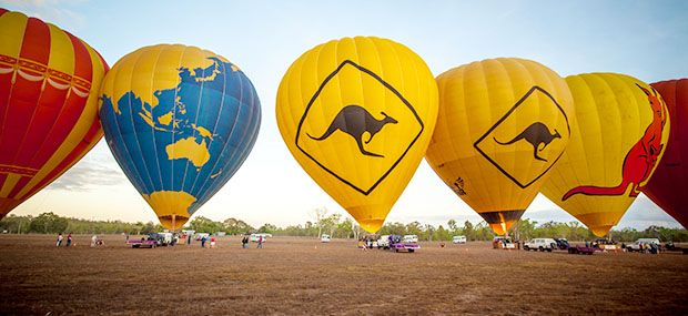 Hot-Air-Balloon-Cairns-Port-Douglas-Kangaroo-Balloon