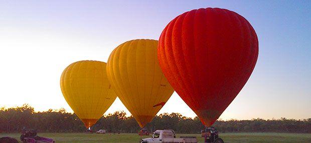 Ballooning with Hot Air Cairns & Port Douglas Koala and Kangaroo Balloons