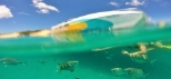 vessel under water