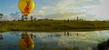 Hot-Air-Balloon-Cairns-Reflection-in-a-Lake