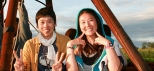 Hot-Air-Balloon-Cairns-Asian-Couple-Happy-Time