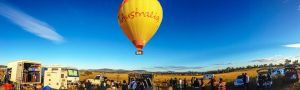 Shaadi Ke Bollywood movie shoot on Hot Air Balloon Gold Coast Queensland Australia